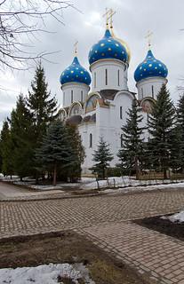 Троице-Сергиева лавра - Успенский собор / The Holy Trinity Lavra of Saint Sergius - Dormition cathedral