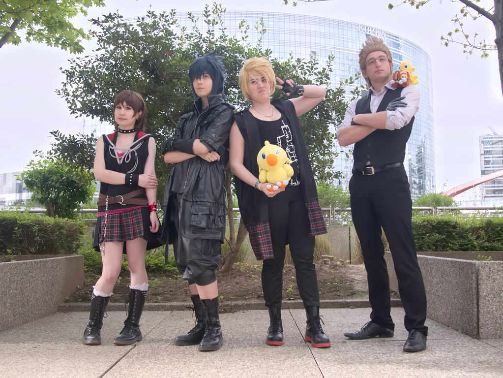 related image - Shooting Final Fantasy XV - La Défense -2017-04-01- P2020965