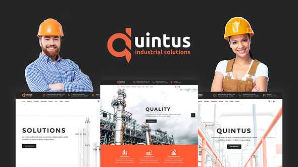 Quintus WordPress Theme free download
