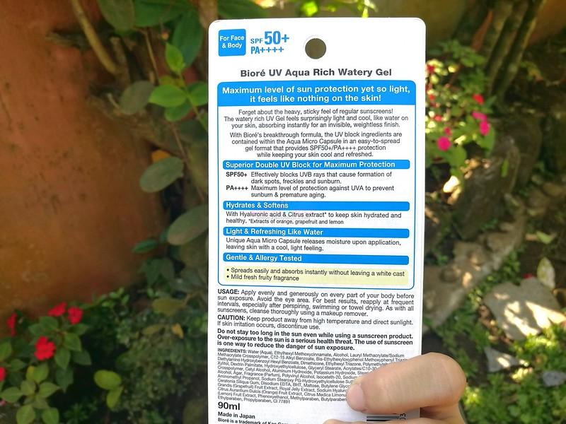 Biore UV Aqua Rich Watery Gel -1
