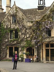 Gail at the Manor House