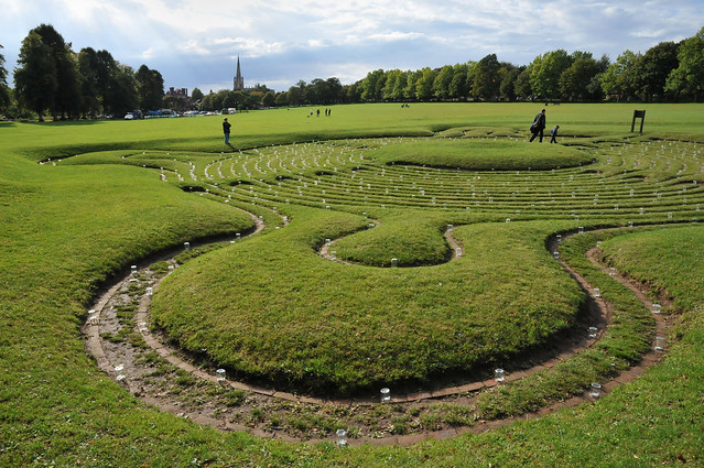 St Marys Saffron Walden - from The Maze Festival on the Common 2
