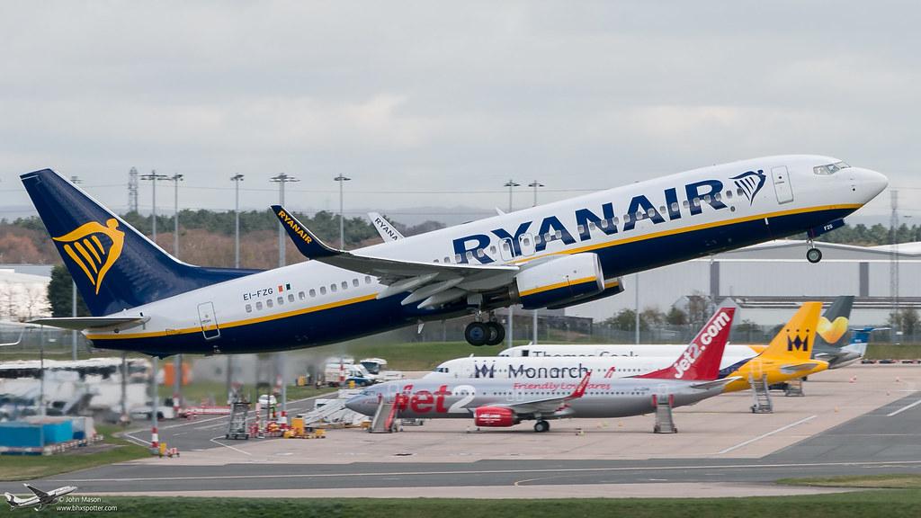 EI-FZG - B738 - Ryanair