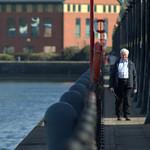 Walking at Preston Docks