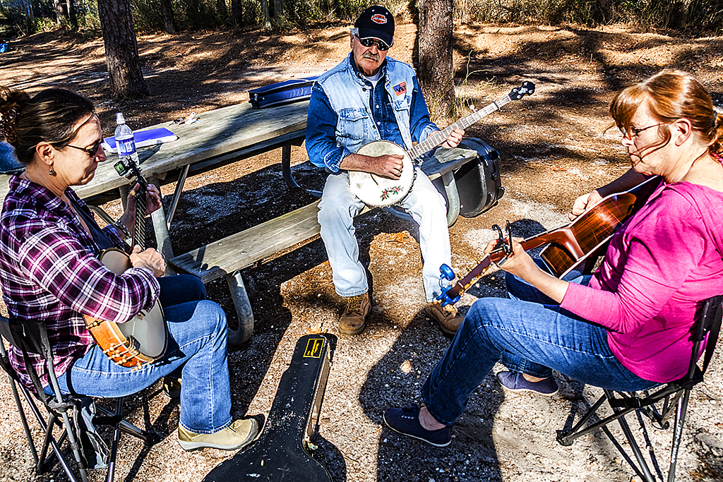 Banjo and guitar players--Pine Barrens