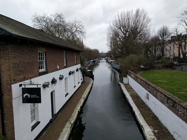 a moody day for walking around Little Venice