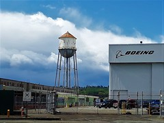 Old Boeing water tower