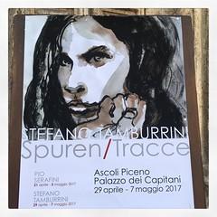 Tracce - Stefano Tamburrini  #arte #mostra