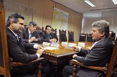 Reunião com o Ministro dos Transportes, Maurício Quintella (08/12/16)