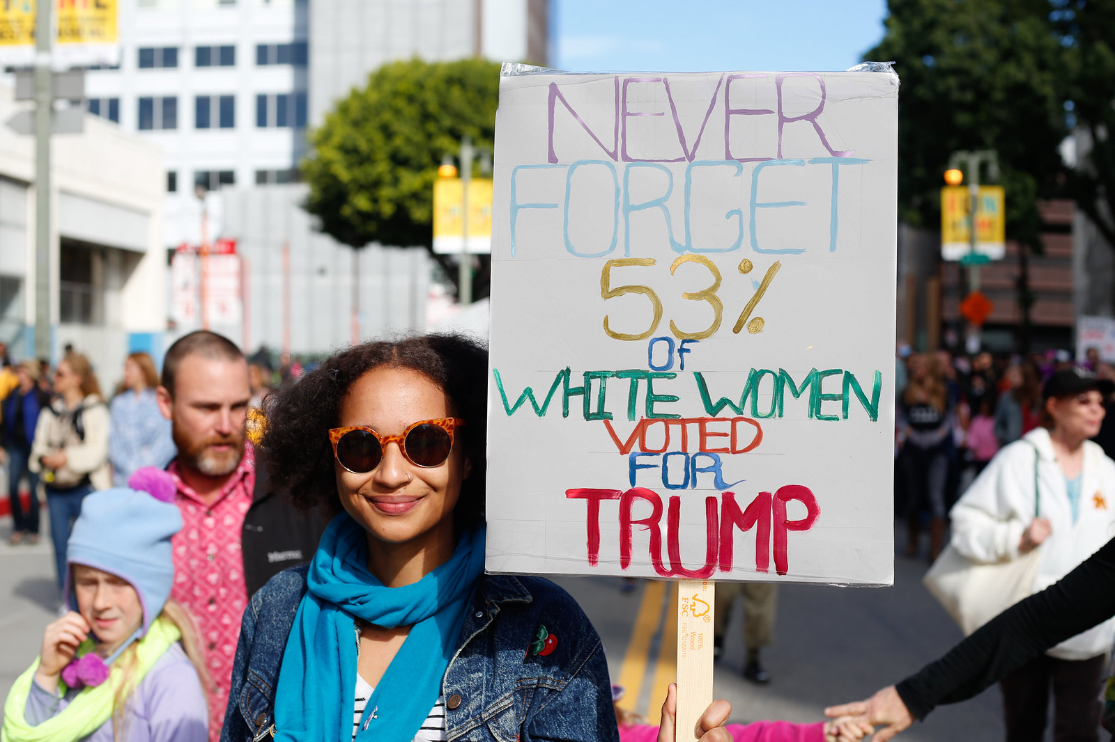 Los Angeles Women's March - January 2017