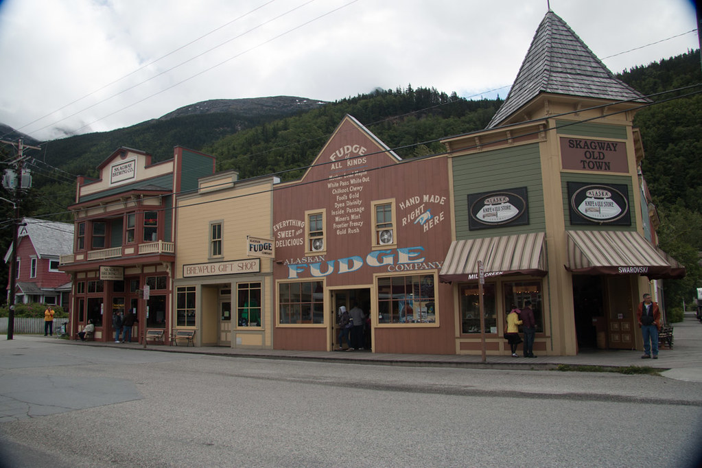 Downtown Skagway Alaska