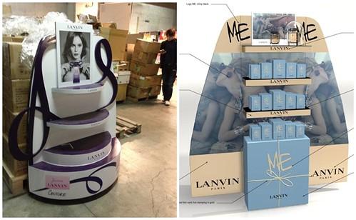 品牌香水公司所提供的原始造型與國外規範