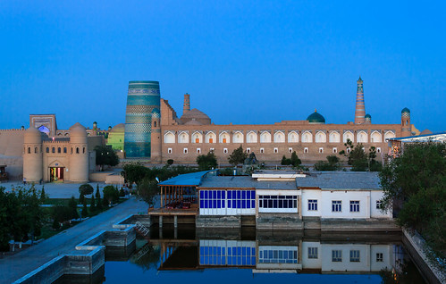 Khiva in Uzbekistan (Unesco world heritage)