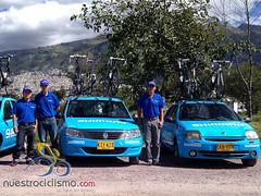 Prensetación de equipos - Vuelta a Colombia 2013