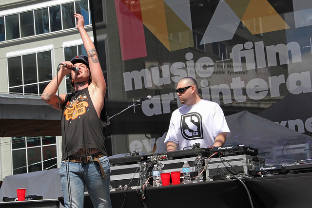NXNE 2013: Mickey Avalon, June 16 @ Yonge-Dundas Square