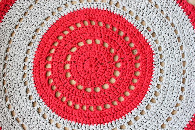 DIY Crochet Rug