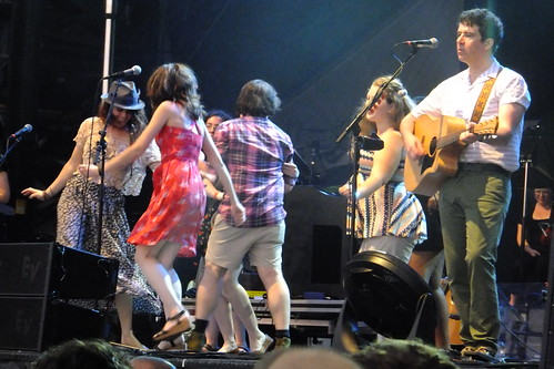 Belle & Sebastien at Ottawa Bluesfest 2013