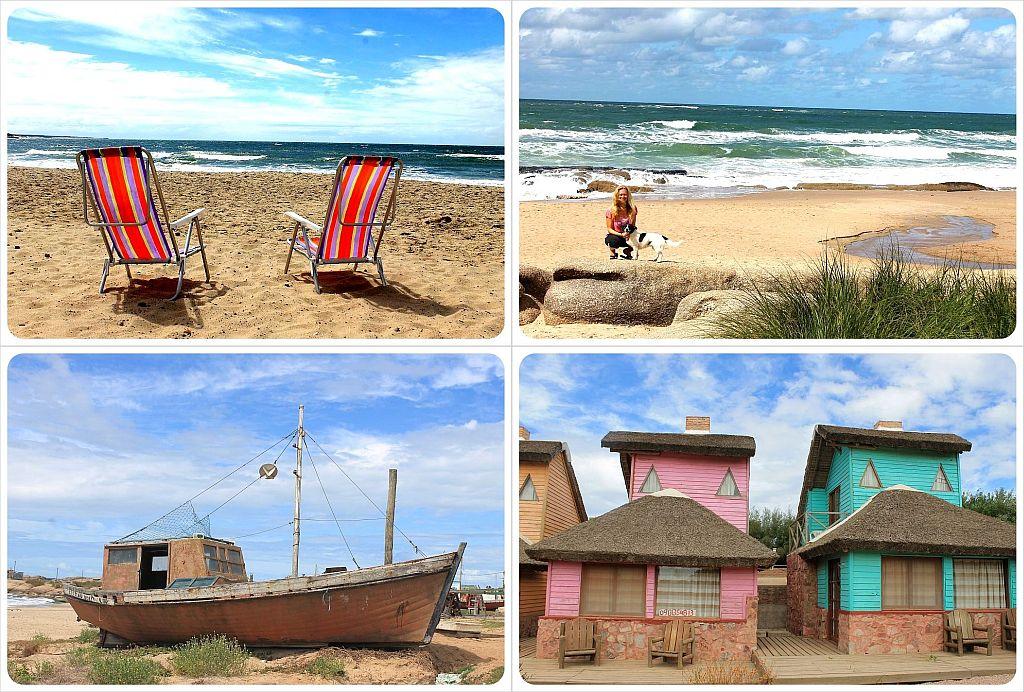 Punta del diablo Uruguay beach