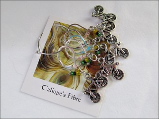 Bicycle stitch markers