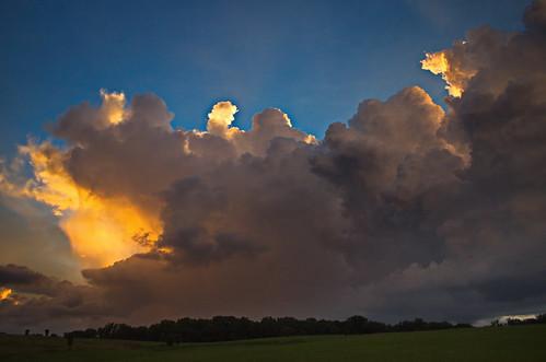 sunset color clouds southcarolina upstate thunderstorm upstatesc