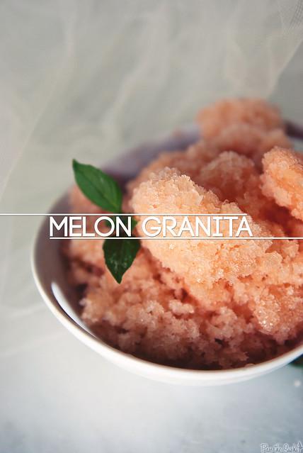 Melon Granita from PasstheSushi.com