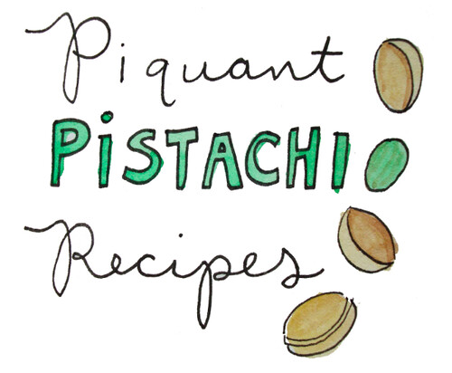 Pistachio recipes