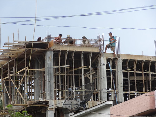 construction asia burma august tropical myanmar haan paan hpaan phaan