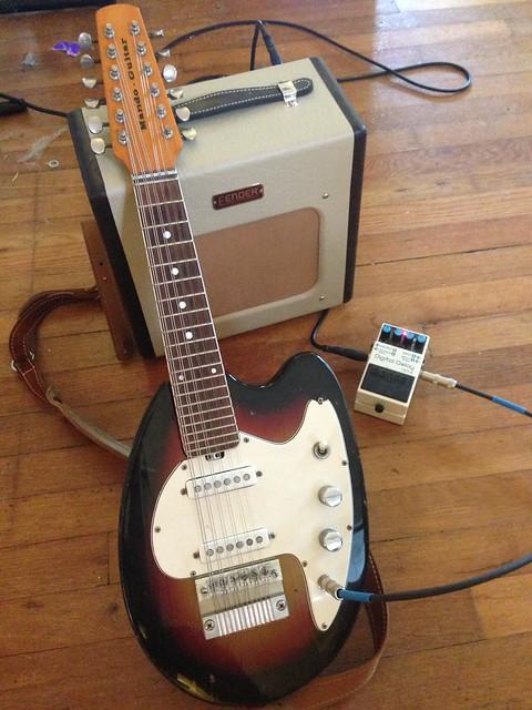 Photo:Vox Mando-Guitar By ghwpix