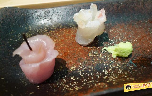 Sushi Sho - Tokyo - appetizer - start