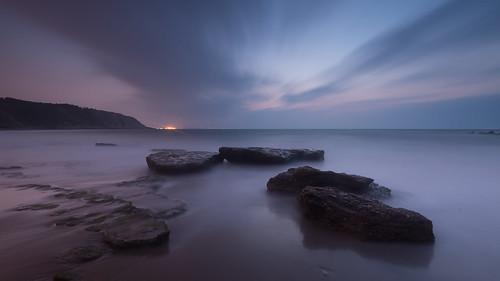 sunset seascape marina landscape atardecer long exposure paisaje bizkaia euskadi exposicion larga azkorri
