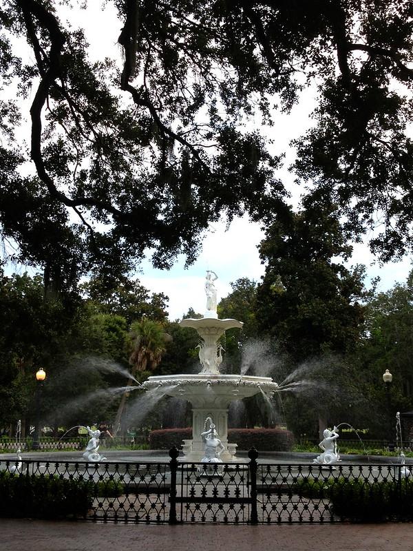 savannah georgia, forsyth park