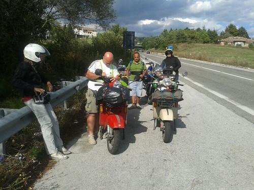#rotolandoversosud2013 #campobasso raggiunta! by manuelongo