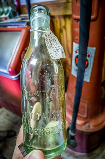 100 year old Coke bottle