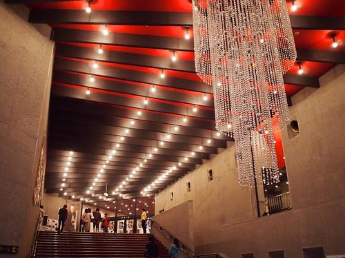 大ホールへの階段