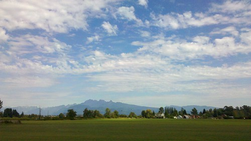 bike trails: Pitt River dykes