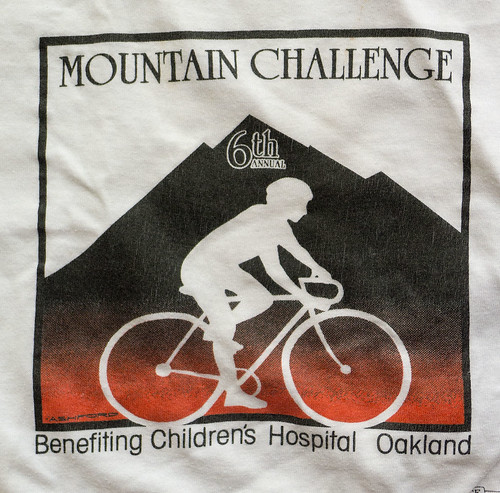 Diablo Challenge shirt 6th annual 1986