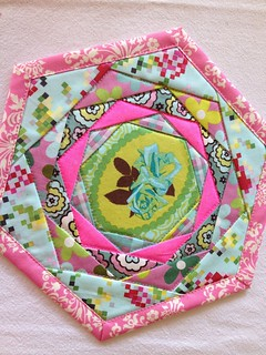 Another trivet made from the Patchwork Please book