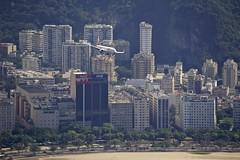 Gol Airline over Rio de Janeiro