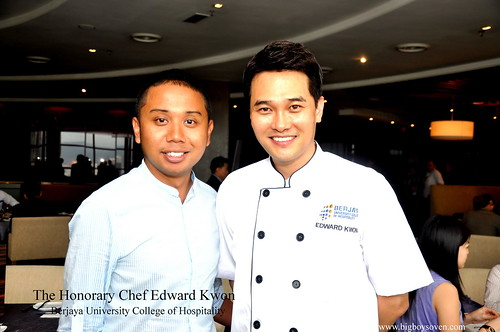 The Honorary Chef Edward Kwon of Berjaya University College of Hospitality 18