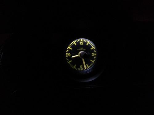 clock gauge - led