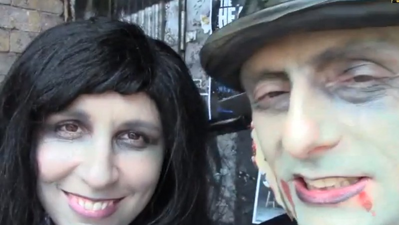 Our 13th Anniversary at the Halifax Zombie Walk