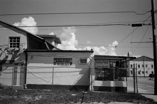Barber Shop Little Havana Minolta Freedom Dual and Ilford ...