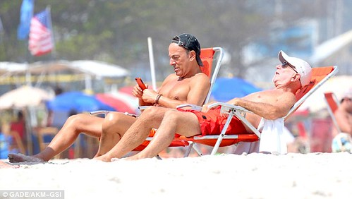 Bruce y Roy en Rio Janeiro Photo Dailymail co uk