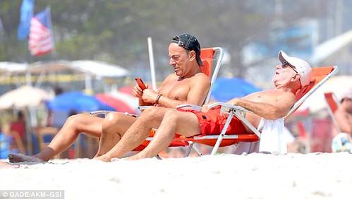 Bruce y Roy en Rio Janeiro Photo Dailymail co uk