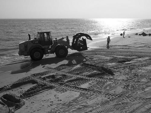 Coney Island beach repair