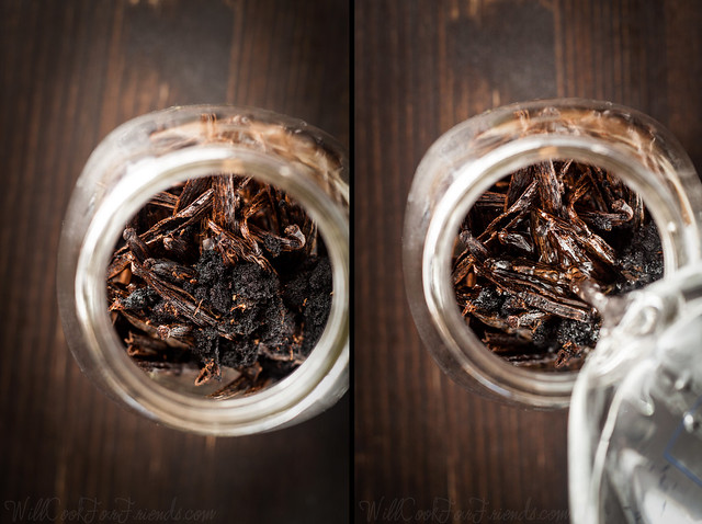 Homemade Vanilla Extract (better than store-bought, and easy to make!)