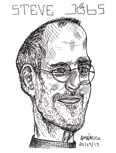 (62) Steve Jobs, co-founder of Apple Inc. by americoneves