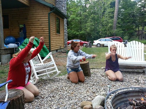Fire starting with the Kruegers. How Vacations Can Get Weirder
