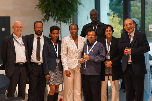 Fatoumata Nafo-Traoré and participants of RBM Partnership Workplan meeting