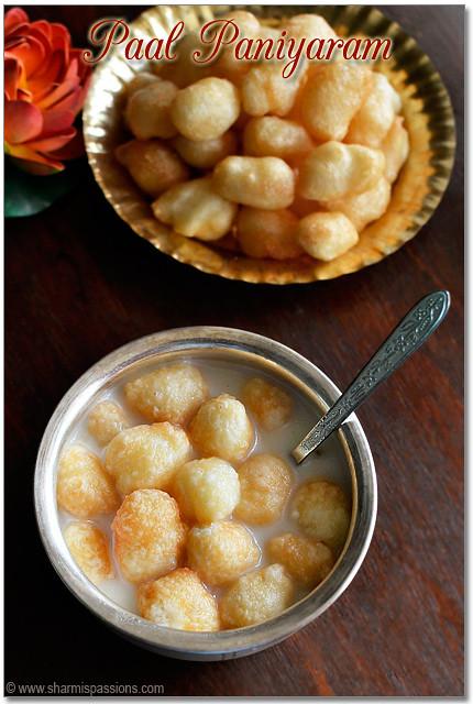 Paal Paniyaram Recipe